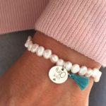 pulsera perla rio placa redonda2